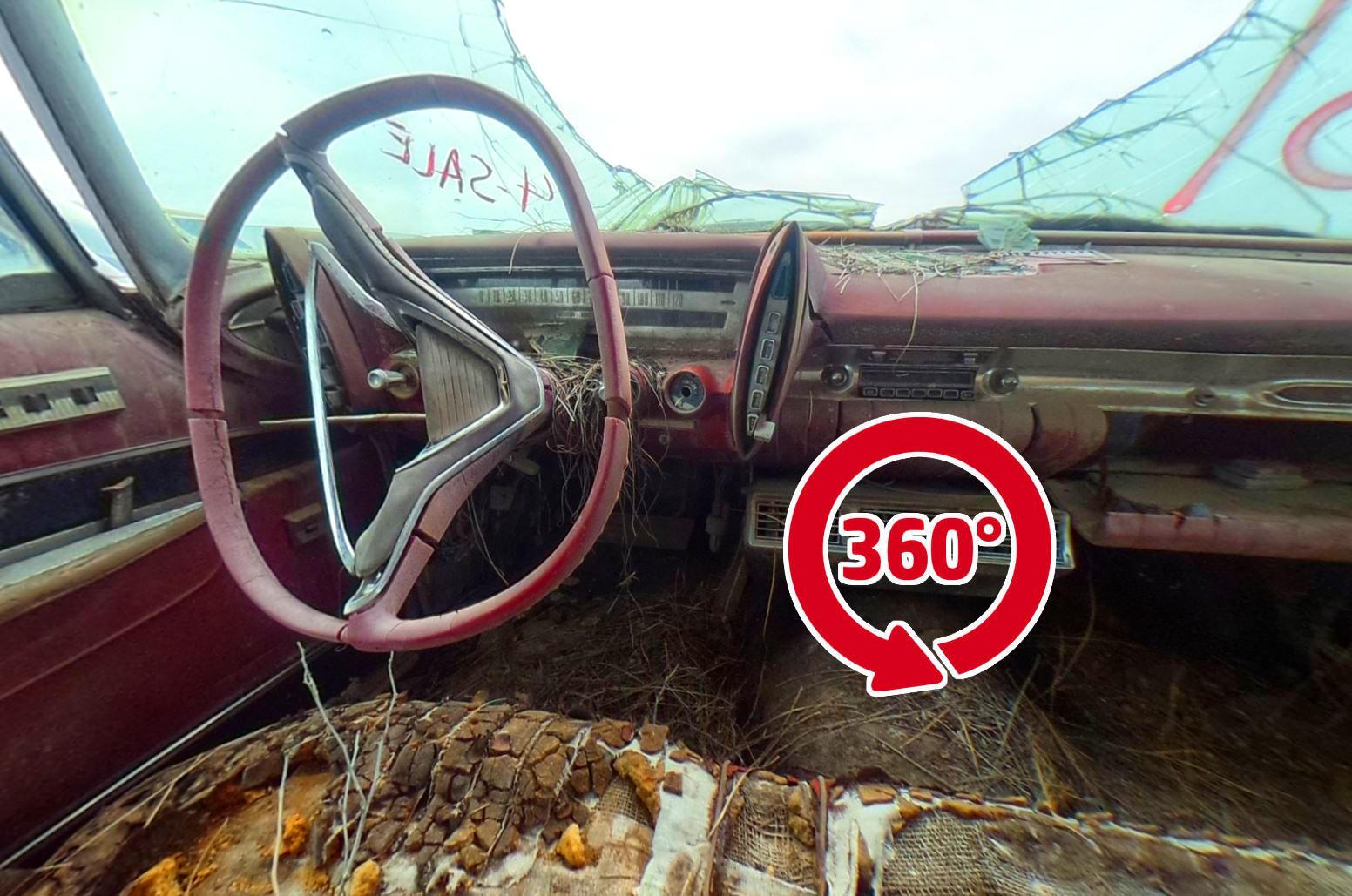 Junkyard Classics – 360° Views Inside Salvage Classic Cars ...