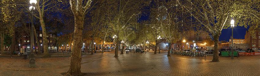 Occidental Park Pioneer Square Seattle Wa Bohonus Vr Photography